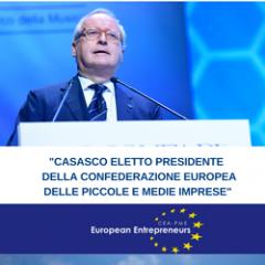 Maurizio Casasco - Presidente della Confederazione europea delle piccole e medie imprese