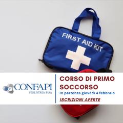 CORSO PRIMO SOCCORSO - IN PARTENZA GIOVEDI' 4 FEBBRAIO