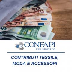 CONTRIBUTI - TESSILE,MODA ED ACCESSORI