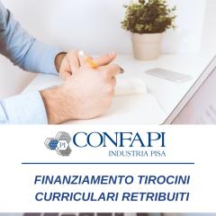 FINANZIAMENTO TIROCINI CURRICULARI RETRIBUITI A.A. 20/21