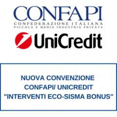 Superbonus 110%: accordo Confapi - Unicredit