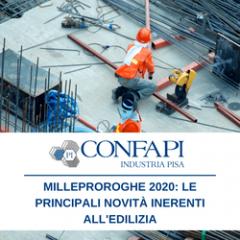 Milleproroghe 2020: le principali novità inerenti all'edilizia